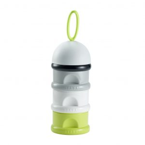 Beaba Stacked Formula Milk Container - Neon