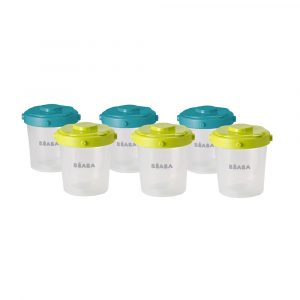 Beaba Set of 6 Clip Portions 200ml