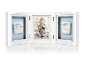 Pearhead Babyprints Deluxe Desk Frame (pink/blue)