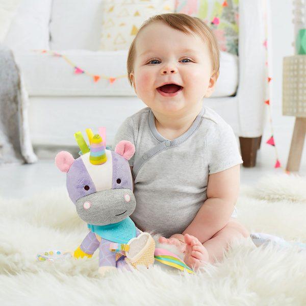 Skip Hop Bandana Buddies Stroller Toy - Unicorn